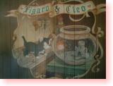 クレオの金魚鉢